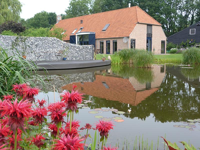 Natuurlijke vijver Espel (Flevoland)