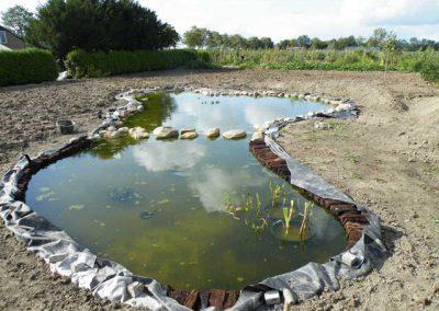 natuurvijver Marknesse Flevoland 4