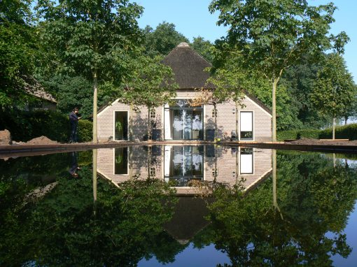 Strakke vijver De Wijk (Drenthe)
