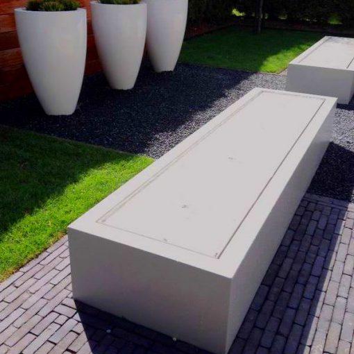 voorbeeld aluminium watertafel wit